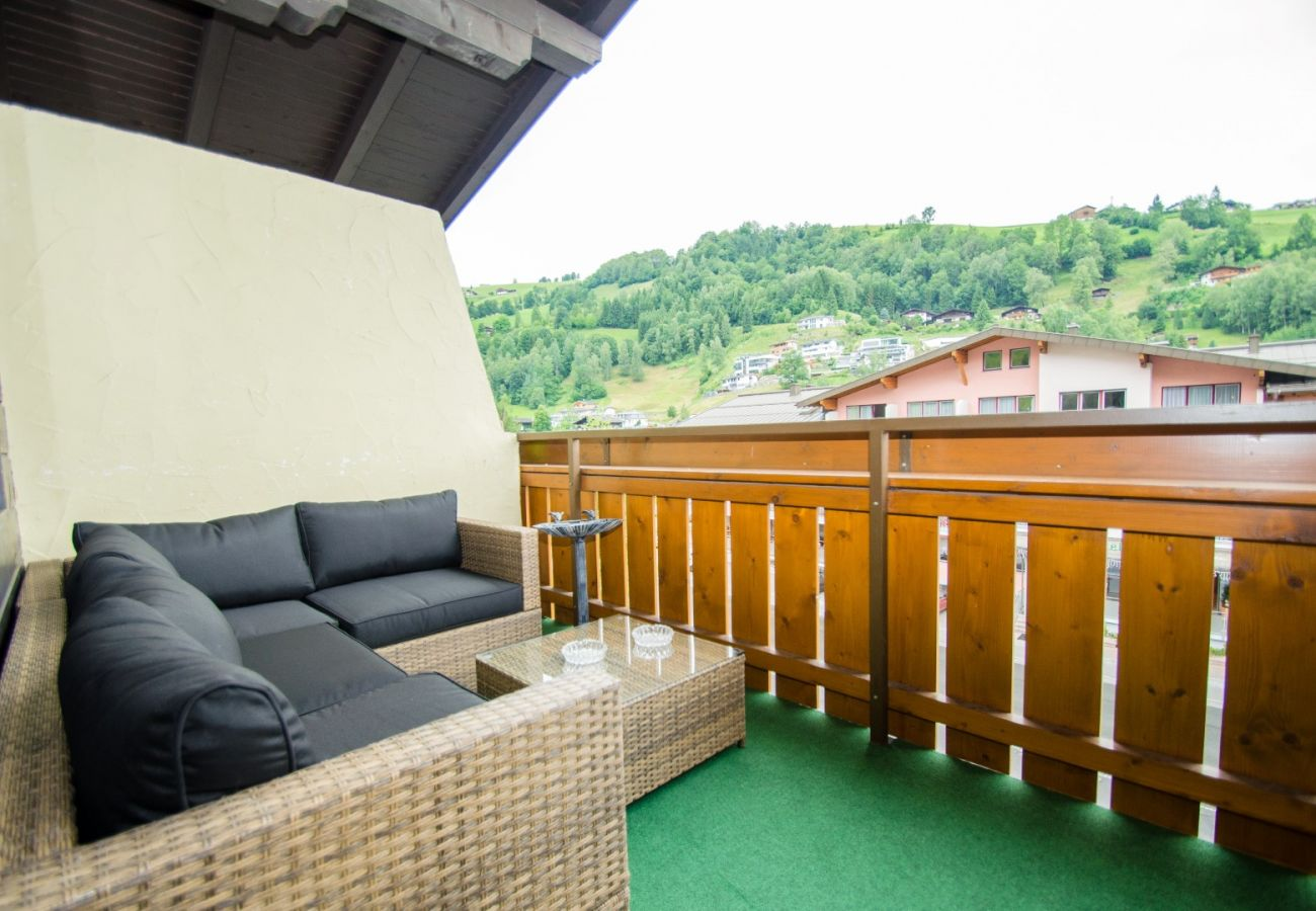 Studio in Kaprun - Penthouse Studio Alisa in Kaprun with balcony
