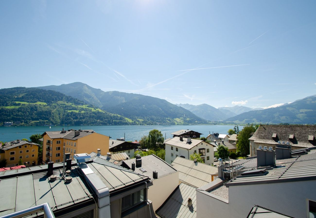 Ferienwohnung in Zell am See - Penthouse SEVEN / private roof terrace, lake view