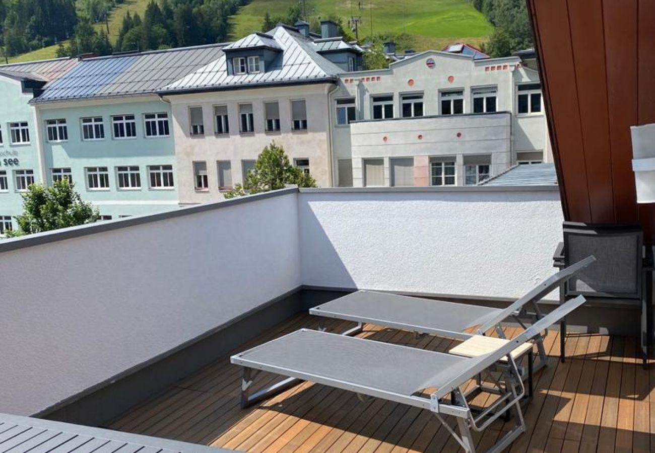 Ferienwohnung in Zell am See - Post Residence Apartments 12B, penthouse, terrace