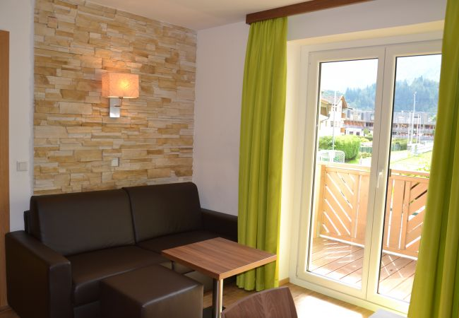 Ferienwohnung in Kaprun - Apartments EDVI C1 - balcony and glacier view
